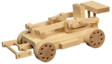 Wooden Toy - Race Car