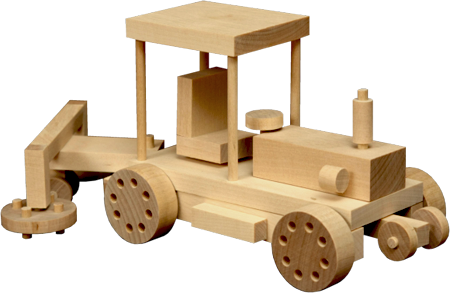 Wooden Toy - Tractor 2